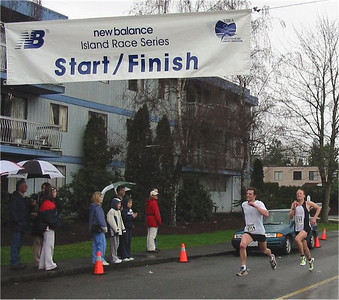 2003 Comox Valley Half Marathon - Epic - John Greaves and Brodie Guild