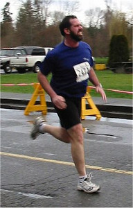 2003 Comox Valley Half Marathon - Bullet Bob Sackett