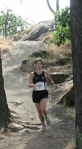 2003 Gutbuster Mount Doug - Meghan Day - before following Kevin off course!