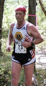 2003 Gutbuster Mount Doug - Meghan was following Kevin Searle!  Oops!