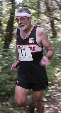 2003 Gutbuster Mount Doug - A speed shot of Wilf Dreher