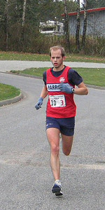 2003 Haney to Harrison Road Relay - Jonathan Withey finishing stage 3