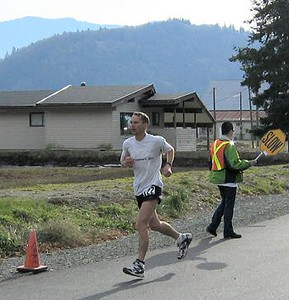 2003 Haney to Harrison Road Relay - Ultramarathon winner Matt Sessions
