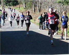 2003 Hatley Castle 8K - Bob Reid just edges out Laura Leno