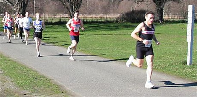 2003 Hatley Castle 8K - Rui and Adam go out hard