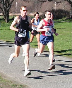 2003 Hatley Castle 8K - Tim Tanton down the starting hill
