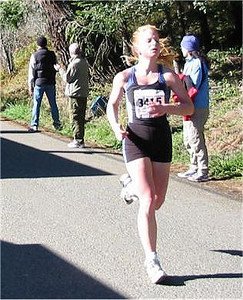 2003 Hatley Castle 8K - Emily Black, 2nd F2024, finishes off her kick