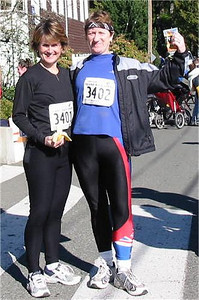 2003 Hatley Castle 8K - Mrs. Spin, Pat Jones, along with Jennifer Andreen