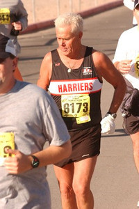 2003 Las Vegas Half Marathon - Brian suffered a serious stroke in April, 2001