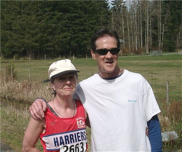2003 Merville 15K - Marcia and Les