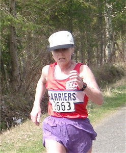 2003 Merville 15K - Marcia in action