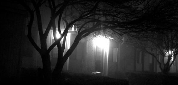 Foggy Night on Kimball Drive