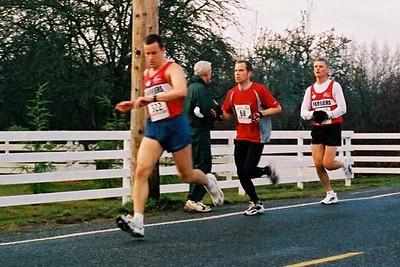 2003 Pioneer 8K - Checking their halfway splits - Tim Tanton and Paul Siluch