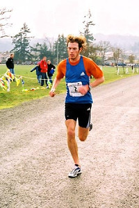 2003 Pioneer 8K - The flying Finn - second place one second faster than his 2002 winning time