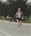 2003 Sooke River 10K - Carla Dunn wins the women's race