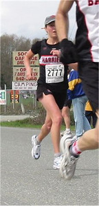 2003 Sooke River 10K - Claire Townsend runs a great race