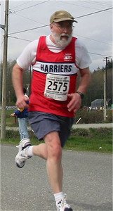 2003 Sooke River 10K - A great 10K for Phil Cornforth