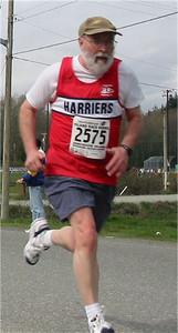 2003 Sooke River 10K - A great 10K for Phil Cornforth