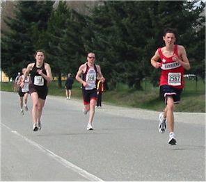2003 Sooke River 10K - Graeme Benn runs his best series race ever