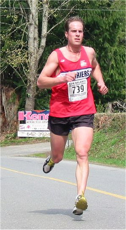 2003 Sooke River 10K - Chad DePol in the midst of ANOTHER comeback