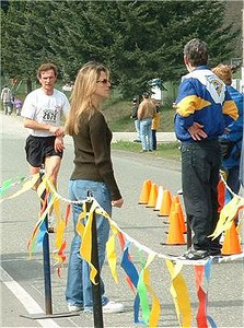 2003 Sooke River 10K - Helena, here comes another one