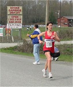2003 Sooke River 10K - Jill Hawe