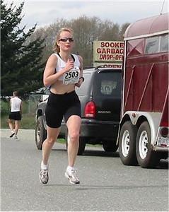 2003 Sooke River 10K - Kathy Davidson