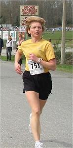 2003 Sooke River 10K - Linda Gibson