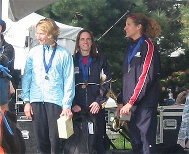 2003 Times-Colonist 10K - The top-3 women - Lucy Smith, Nancy Tinari, Carolyn Murray