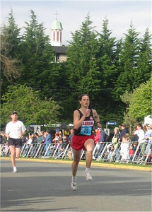 2003 Times-Colonist 10K - Meghan finishes sixth overall in the women's race
