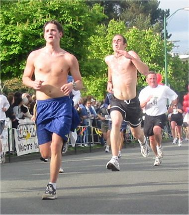 2003 Times-Colonist 10K - It wasn't that warm, was it?