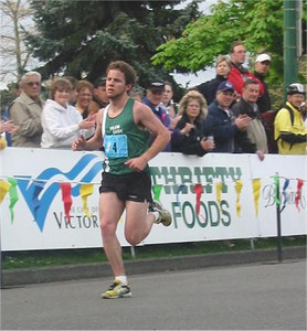 2003 Times-Colonist 10K - Saskatoon's Jamie Epp finished 7th in 31:34