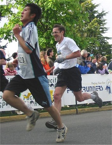 2003 Times-Colonist 10K - Colin Wood finishes in 46:33