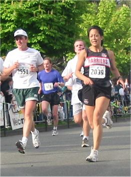 2003 Times-Colonist 10K - Dee Ogden finishes in 46:38...