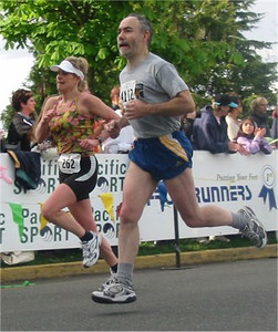 2003 Times-Colonist 10K - Rhonda Callender and Sam Macey