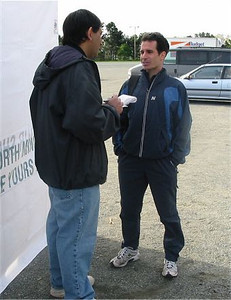 2003 Times-Colonist 10K - Bruce talks to Cleve
