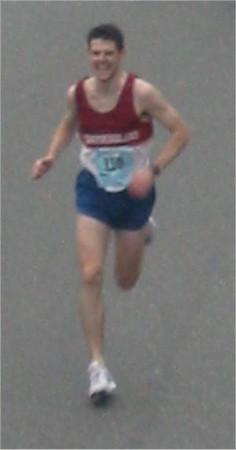 2003 Vancouver Sun Run - Trevor O'Brien