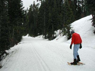 2003 Febuary Yosemite with Marty