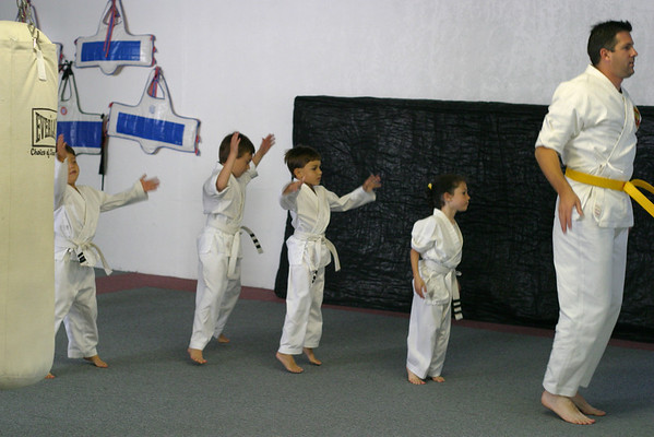Another Karate Belt Test