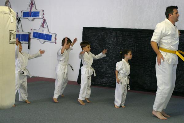 Another Karate Belt Test