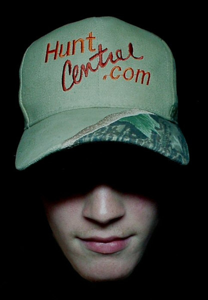 I won the last Hunt Central ball cap before the site closed down, and shot this to celebrate.