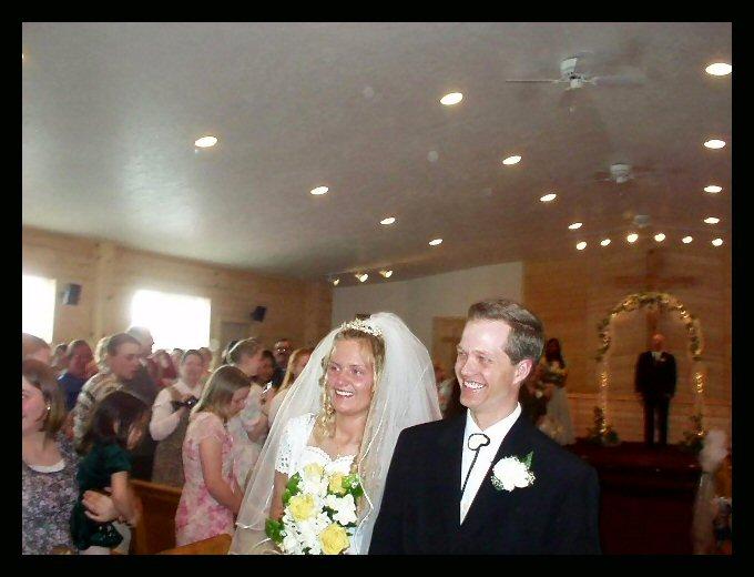 Faith and Joe Bates, and a happy new beginning.