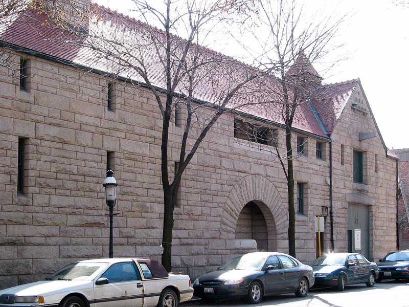 Glessner house, rear facade