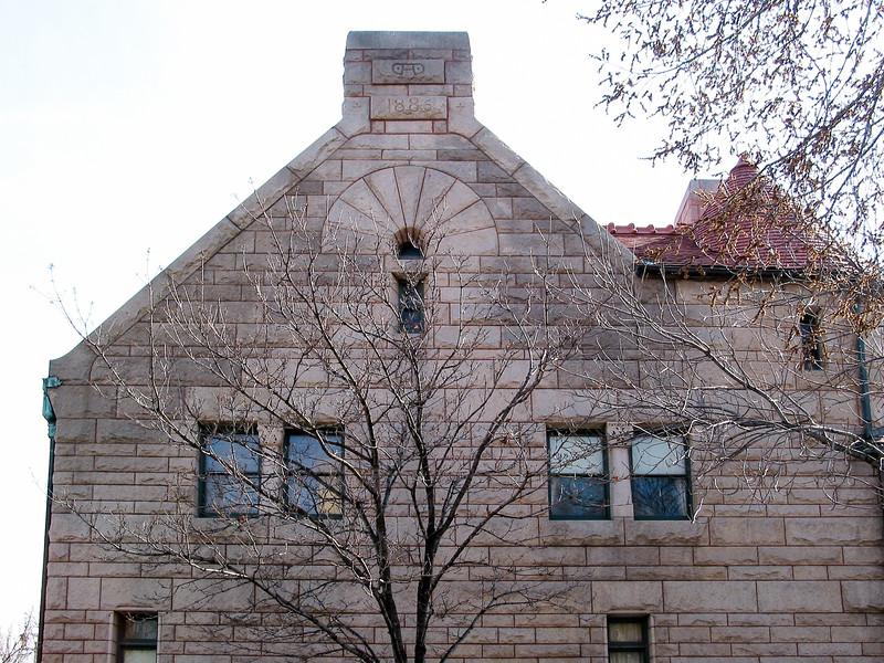 Glessner house, side facade