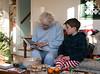 Grandma Dorothy and Benjamin