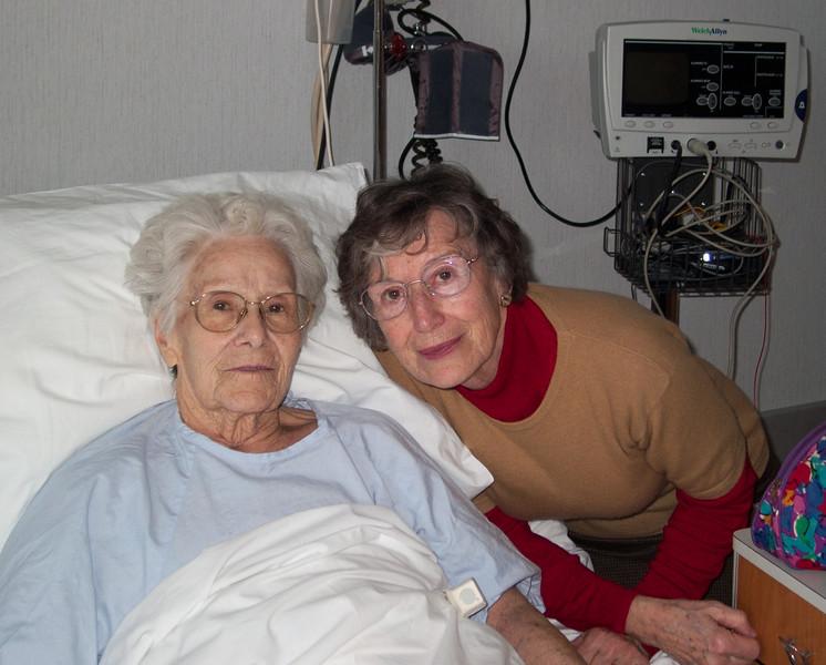 Mamie Lucienne and Grandma José