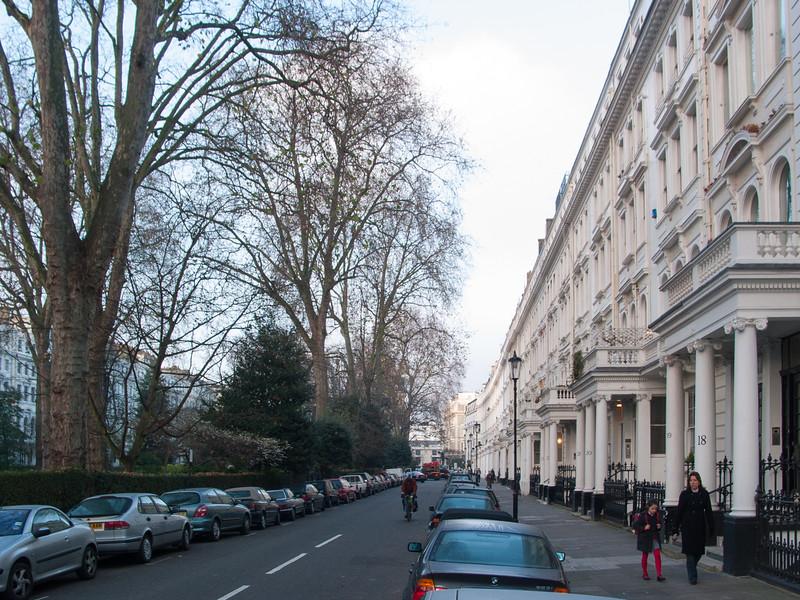 Classic London terrace