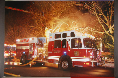 Fire Trucks in Action Calendar - 2005