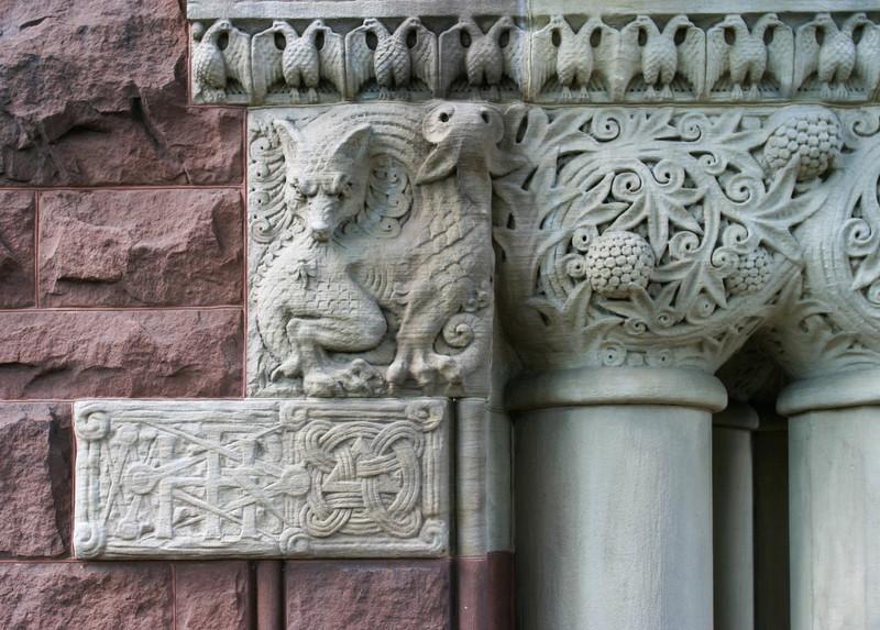Austin Hall: decorative details