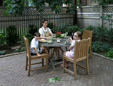 In the Back Yard, July 2003